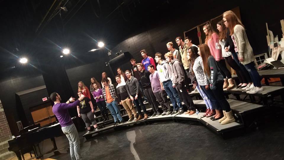 Chorale Dress Rehearsal