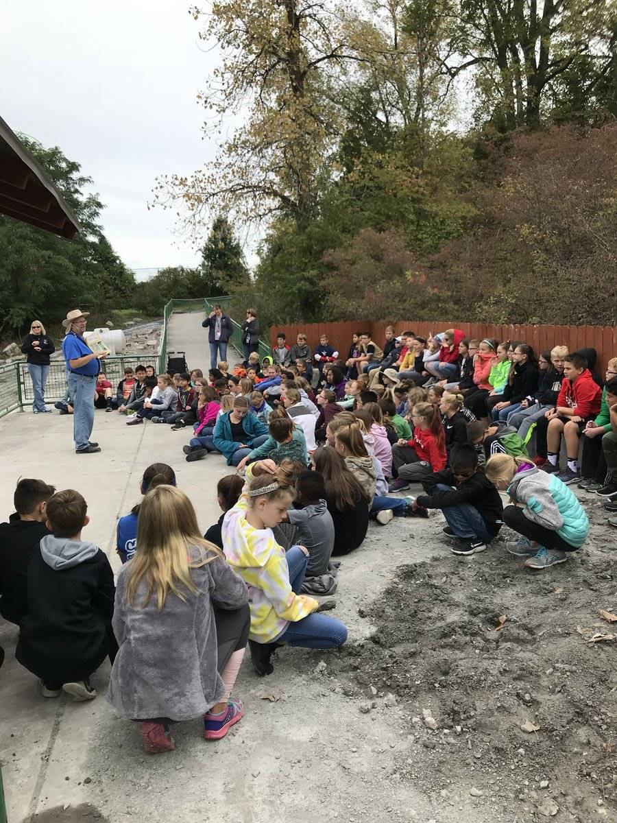 6th Grade Students at Fossil Park