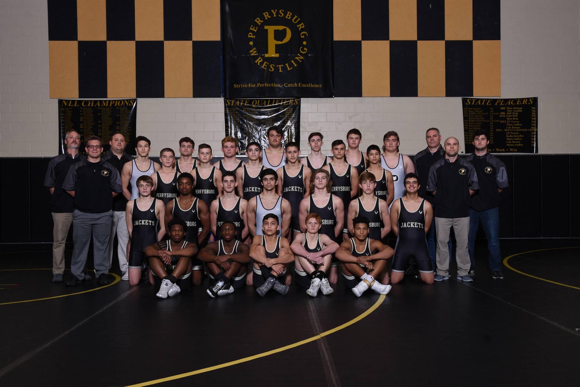 PHS Varsity Wrestling Team Photo