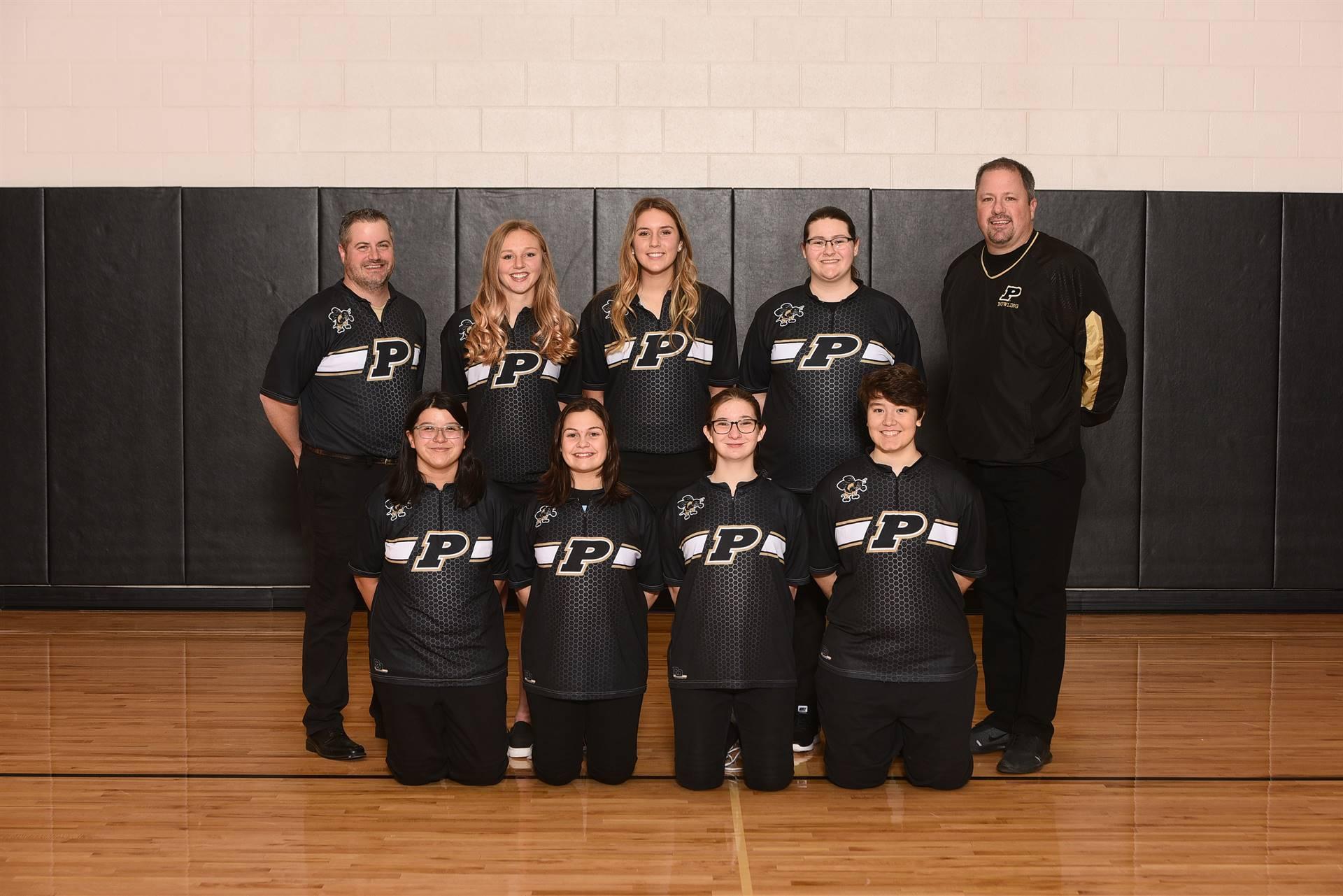 PHS Girls Varsity Bowling
