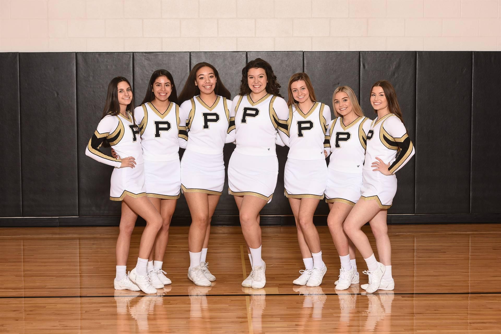 PHS Varsity Winter Cheer Team