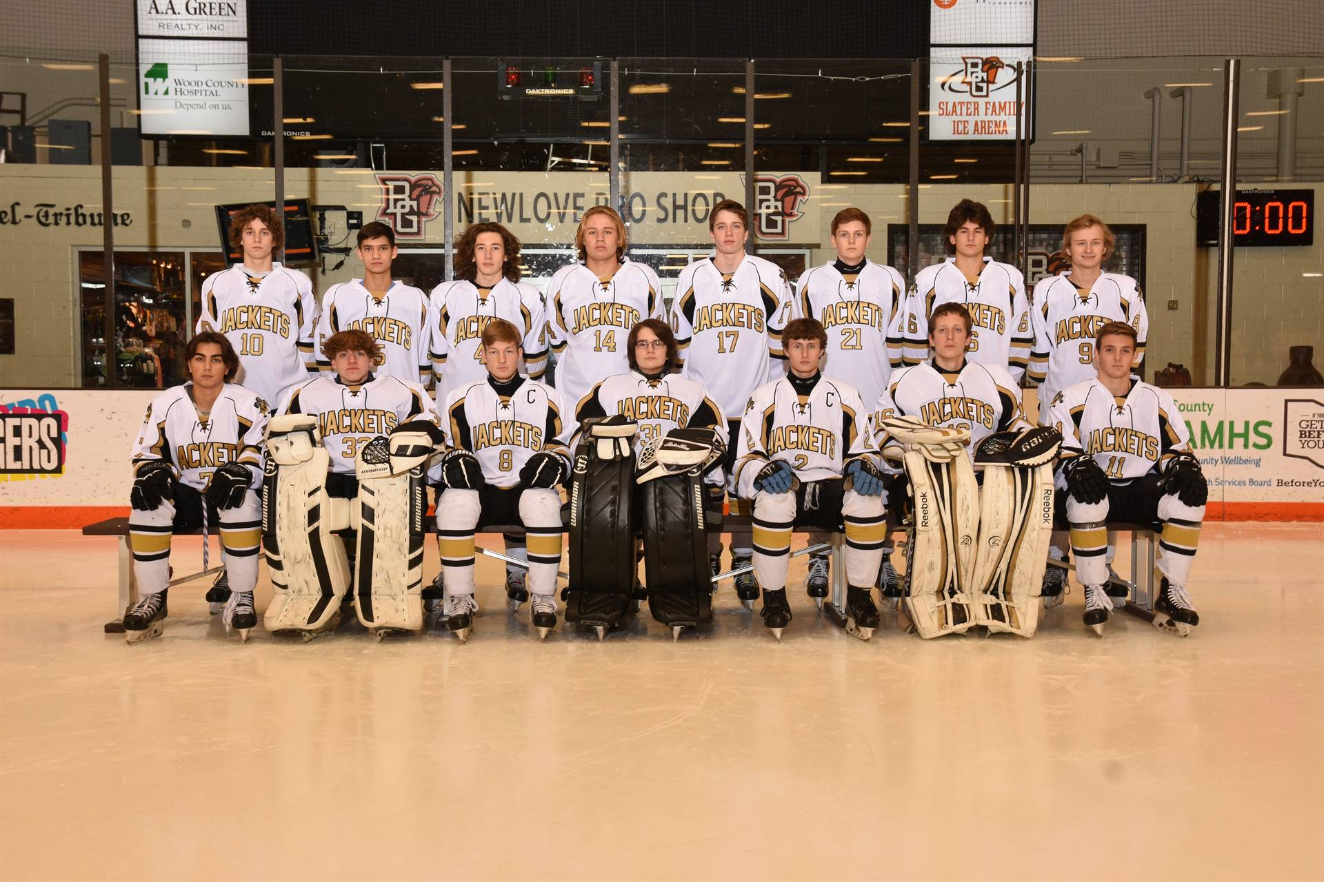 PHS Varsity Hockey Team