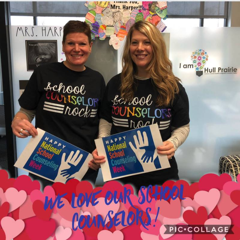 We love our school counselors!