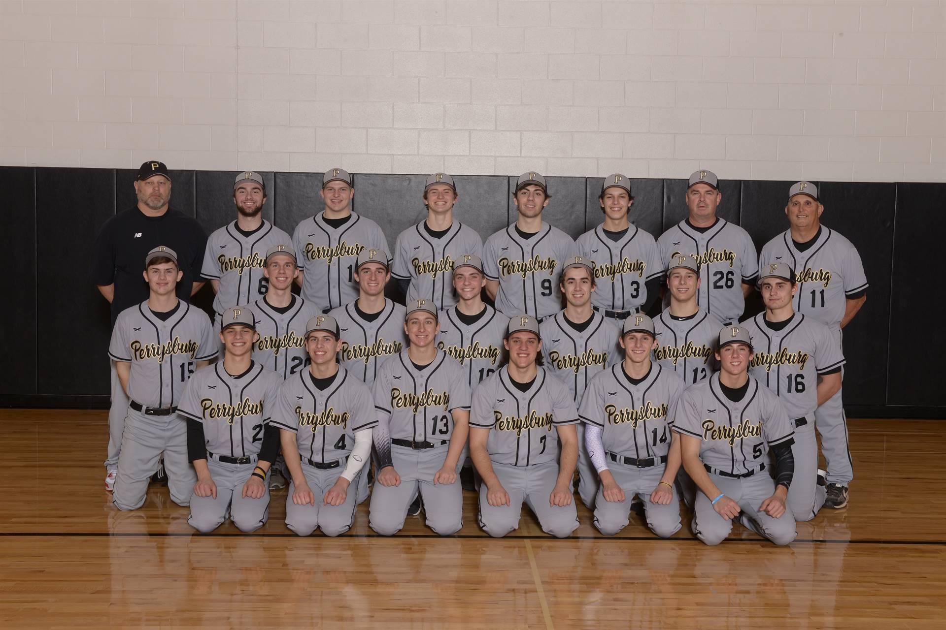 2019 Varsity Baseball Team