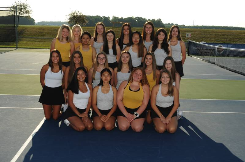 PHS Girls JV Tennis Team