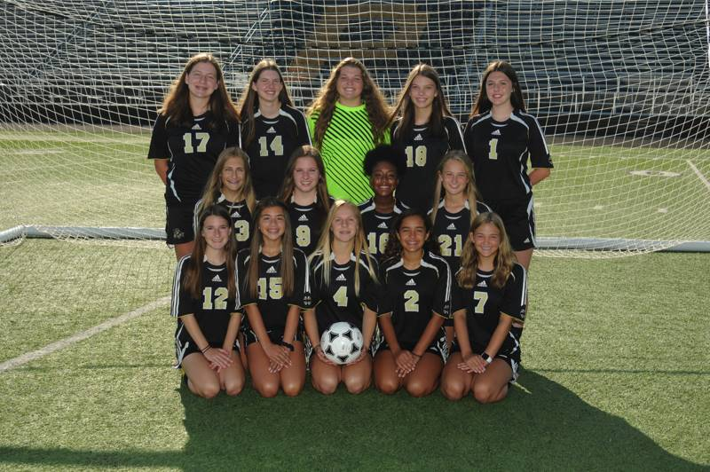 PHS JVB Girls Soccer Team