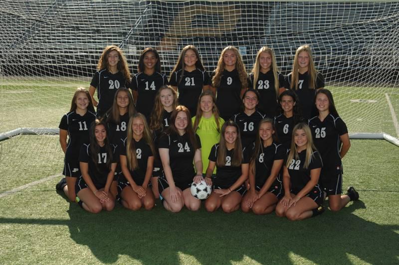 PHS JVA Girls Soccer Team