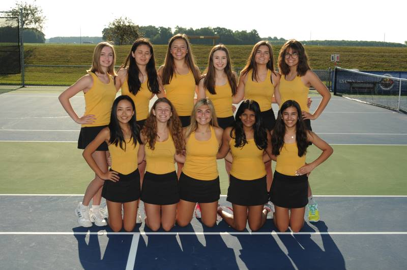 PHS Girls Varsity Tennis Team