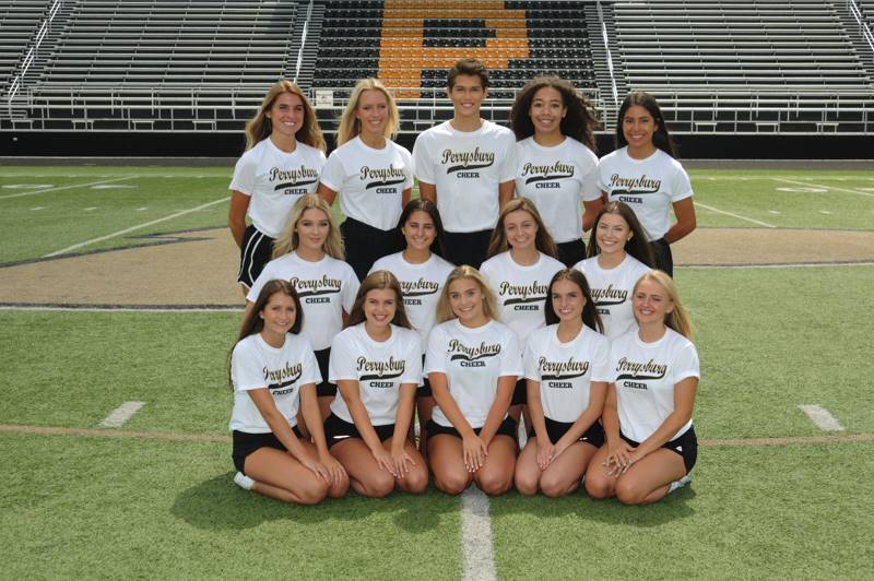 PHS Varsity Cheer Team