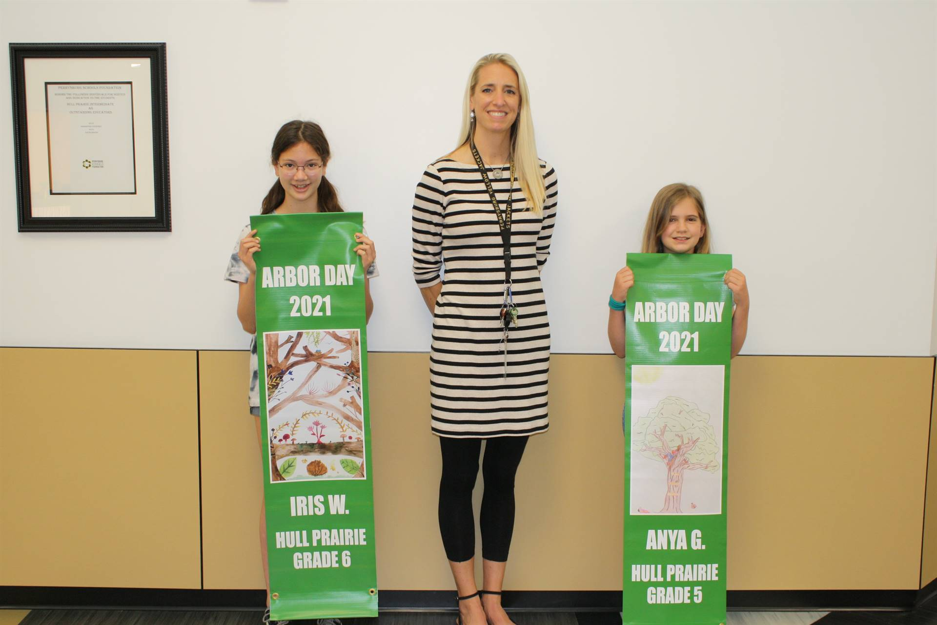 2021 HPI Arbor Day Poster Contest Winners