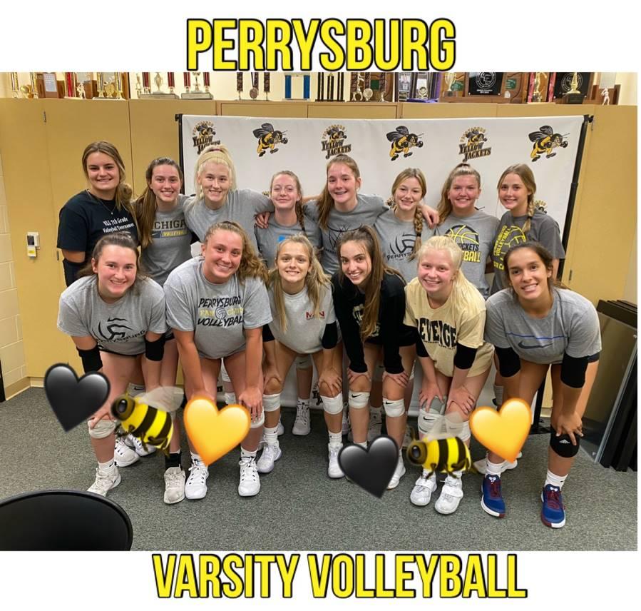 2021 Perrybsurg Varsity Volleyball