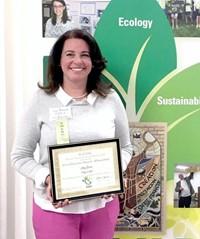 Amy Boros Named Eco-Educator of the Year